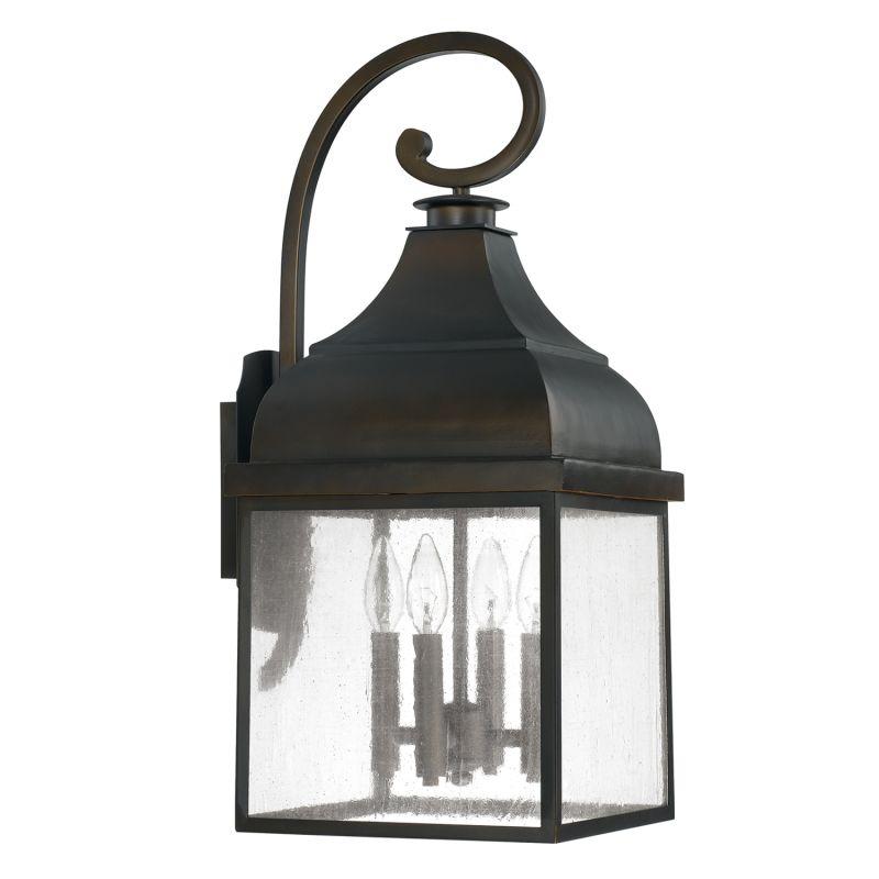 Capital Lighting 9643 The Westridge Collection 4 Light Outdoor Wall Sale $248.00 ITEM: bci2434691 ID#:9643OB UPC: 841224000212 :