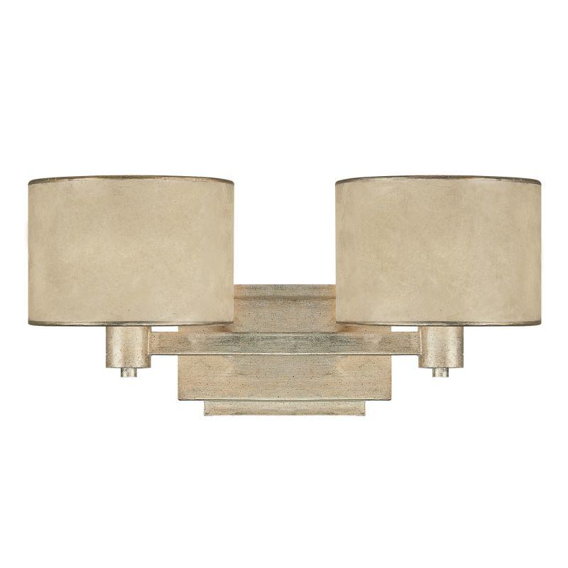 Capital Lighting 1007-410 Luna 2 Light Bathroom Vanity Fixture Winter