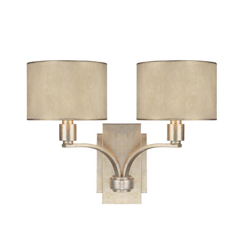 Capital Lighting 1027-410 Luna 2 Light Double Sconce Winter Gold