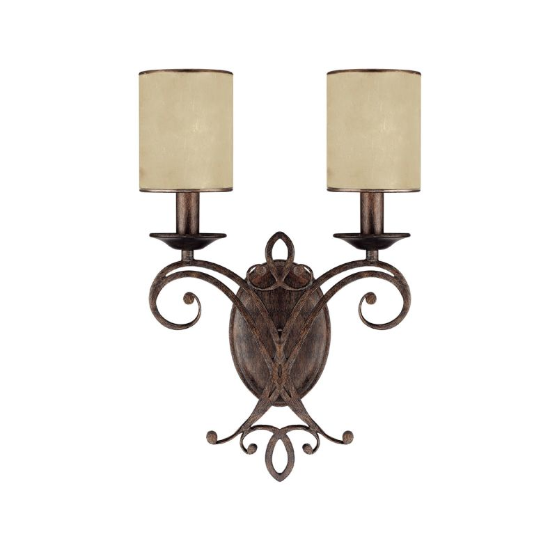 Capital Lighting 1116-510 Reserve 2 Light Candle-Style Wall Sconce