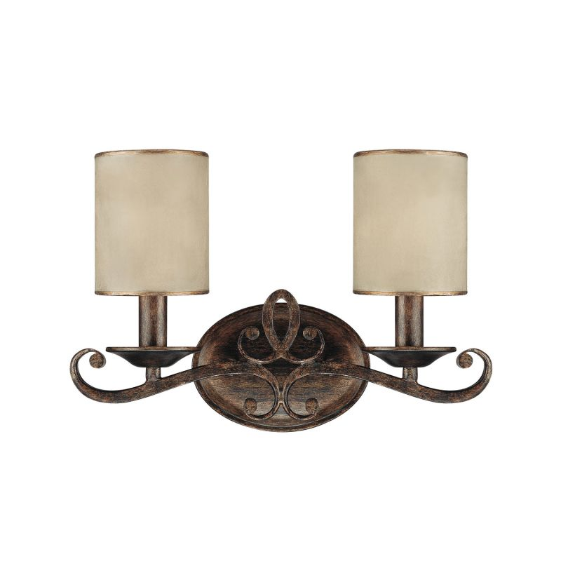 Capital Lighting 1117-510 Reserve 2 Light Bathroom Vanity Fixture