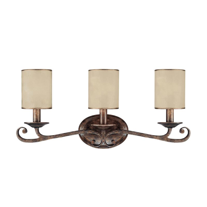 Capital Lighting 1118-510 Reserve 3 Light Bathroom Vanity Fixture