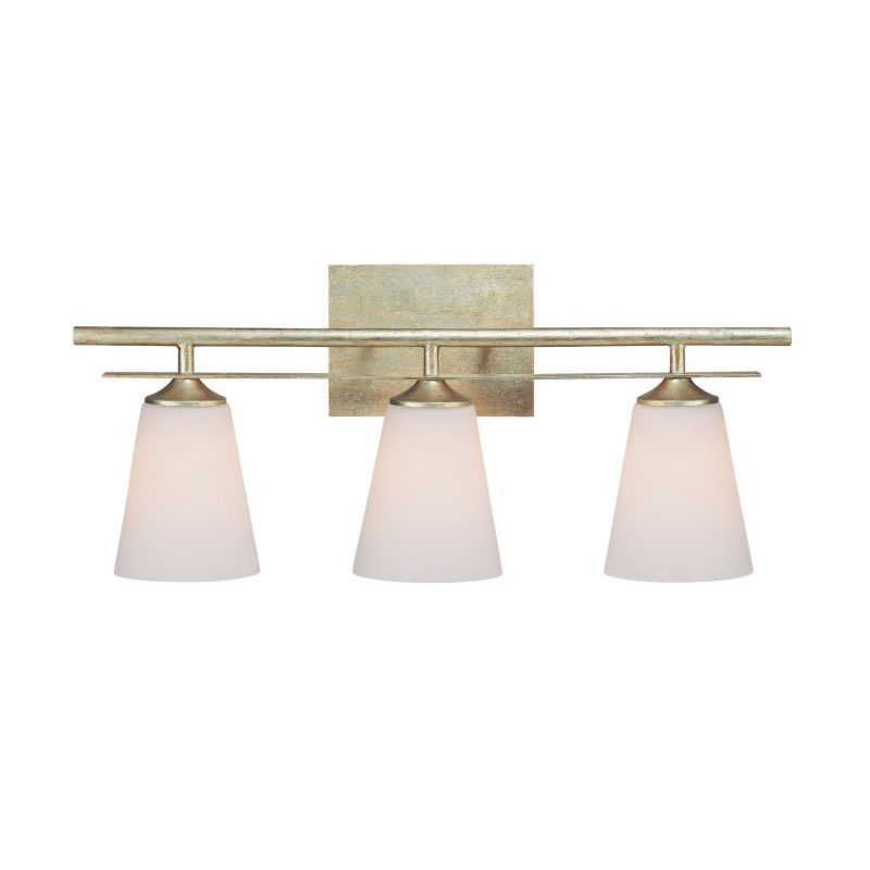 Capital Lighting 1738-122 Soho 3 Light Bathroom Vanity Fixture Winter