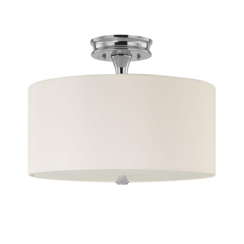 Capital Lighting 3874-496 Studio 3 Light Semi-Flush Ceiling Fixture Sale $178.00 ITEM: bci1806859 ID#:3874PN-496 UPC: 841224069677 :