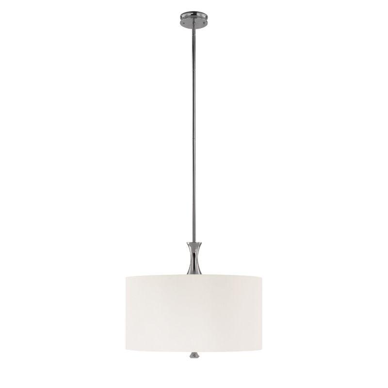 Capital Lighting 3875-495 Studio 4 Light Large Drum Pendant Polished