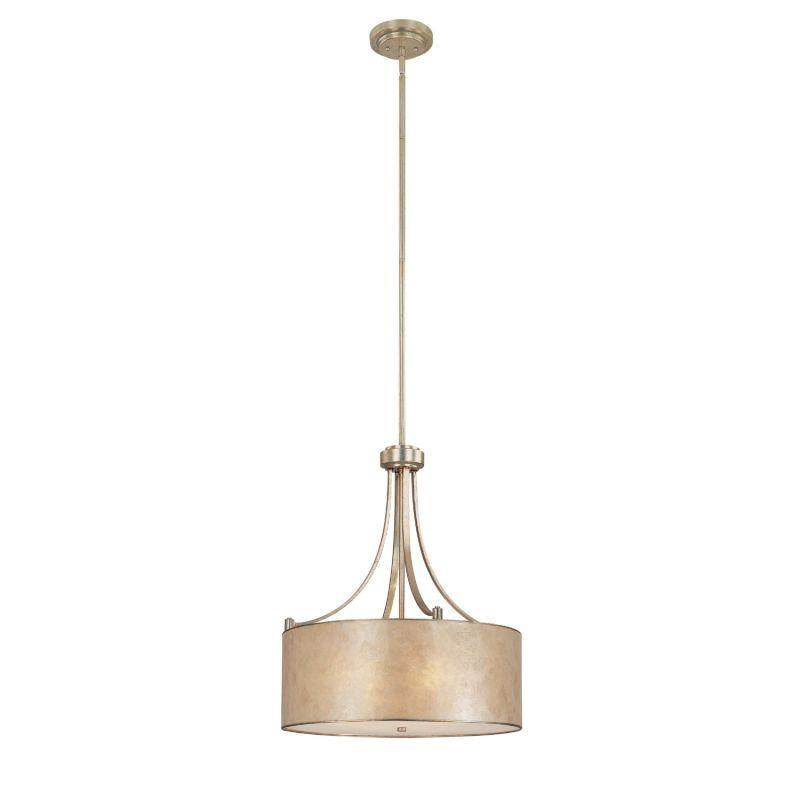Capital Lighting 3931-481 Luna 4 Light Full Sized Drum Pendant Winter