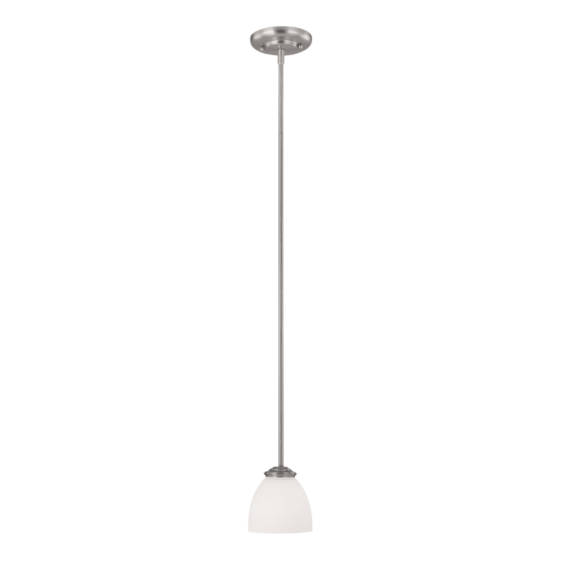 Capital Lighting 3941-202 Chapman 1 Light Mini Pendant Matte Nickel Sale $60.00 ITEM: bci1840280 ID#:3941MN-202 UPC: 841224078761 :