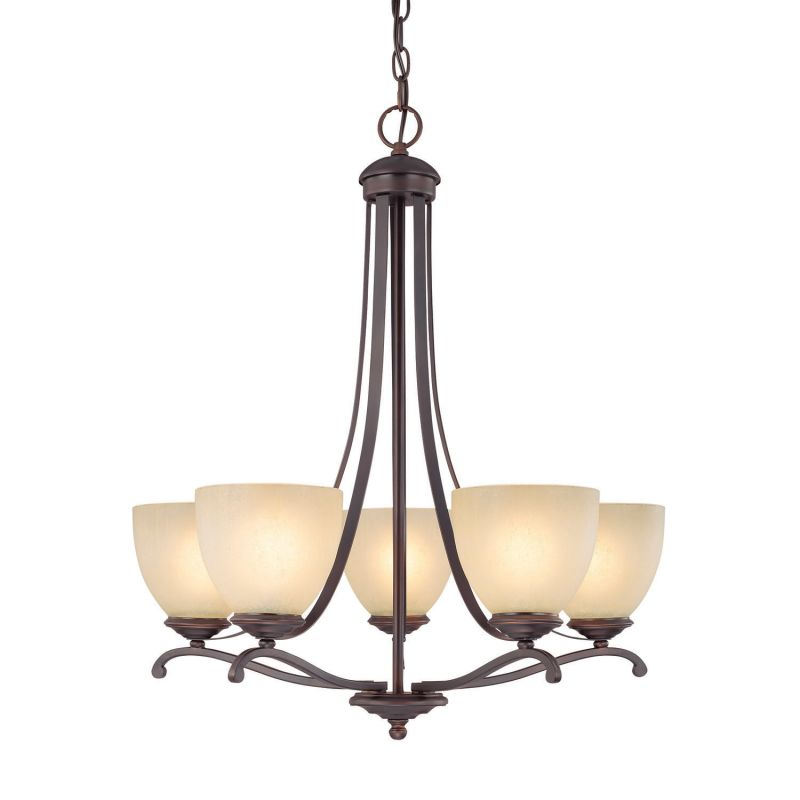 Capital Lighting 3945-201 Chapman 5 Light 1 Tier Chandelier Burnished Sale $236.00 ITEM: bci1840284 ID#:3945BB-201 UPC: 841224078815 :