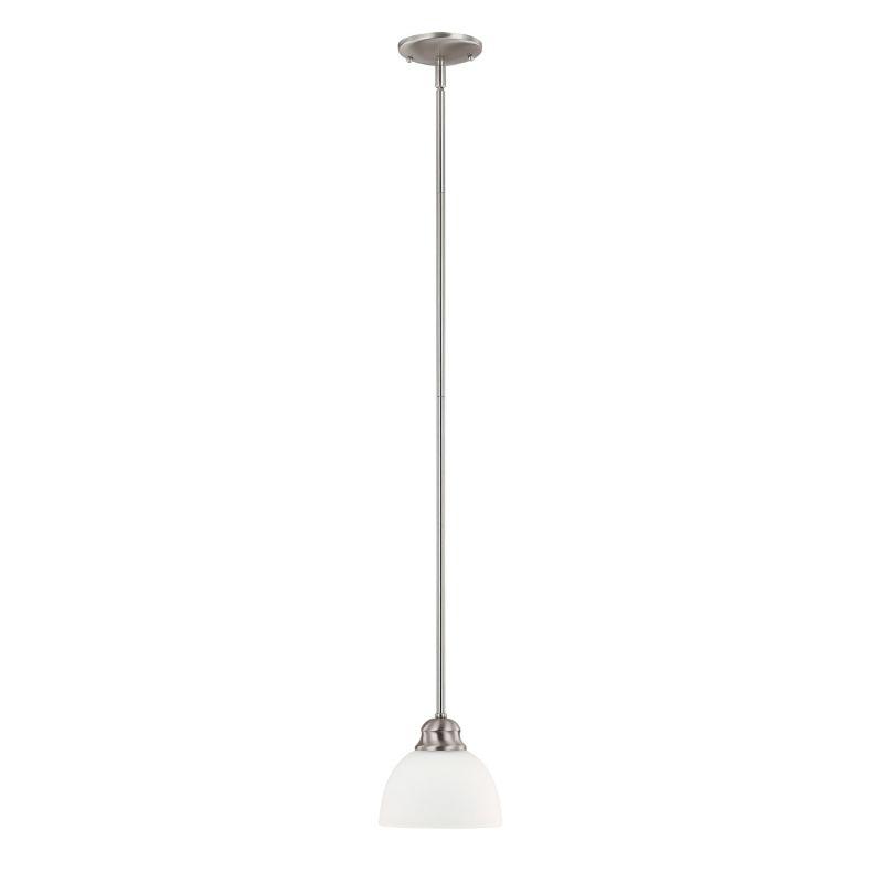 Capital Lighting 4031-212 Stanton 1 Light Mini Pendant Brushed Nickel