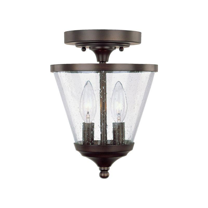 Capital Lighting 4032BB-236 Stanton 2 Light Mini Urn Pendant Burnished