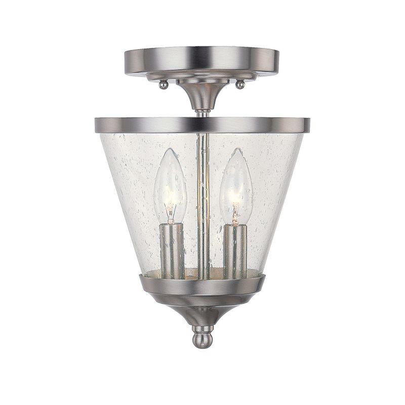 Capital Lighting 4032BN-236 Stanton 2 Light Mini Urn Pendant Brushed