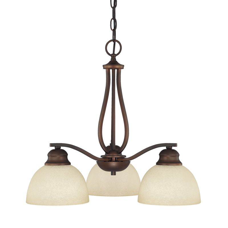 Capital Lighting 4034-207 Stanton 3 Light 1 Tier Chandelier Burnished Sale $162.00 ITEM: bci1840318 ID#:4034BB-207 UPC: 841224078211 :