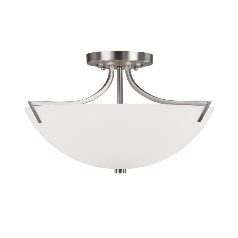 Capital Lighting 4037 Stanton 3 Light Semi-Flush Ceiling Fixture