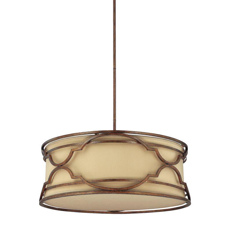 Capital Lighting 4051-530 Luciana 4 Light Full Sized Drum Pendant