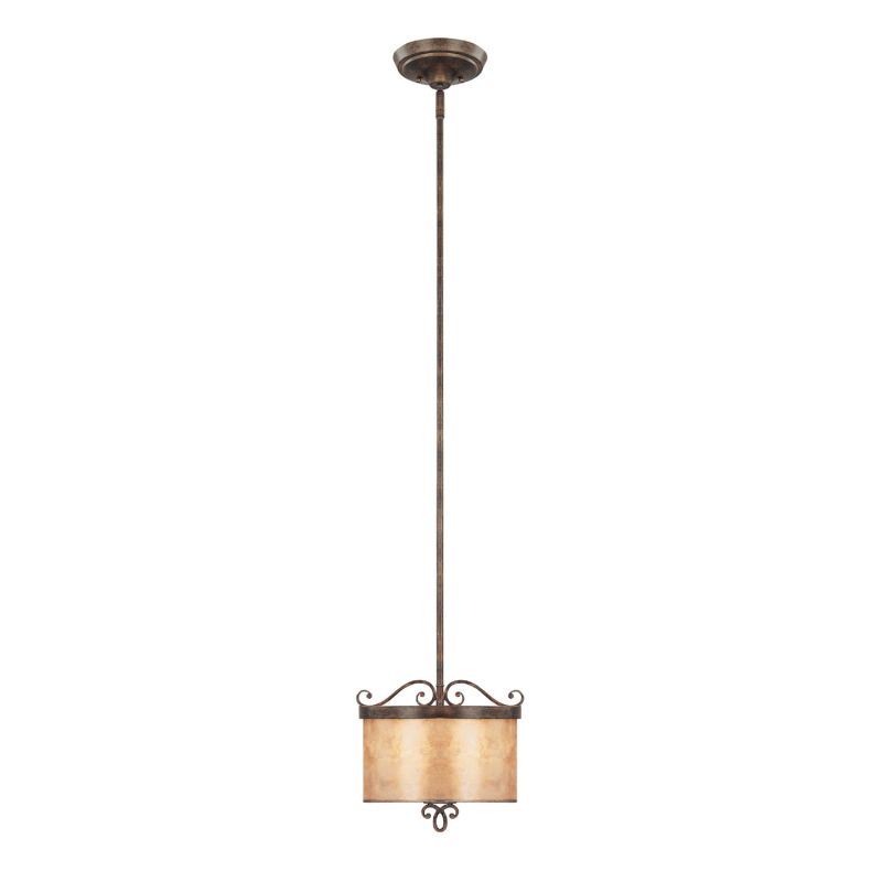 Capital Lighting 4160-499 Reserve 2 Light Full Sized Pendant Rustic