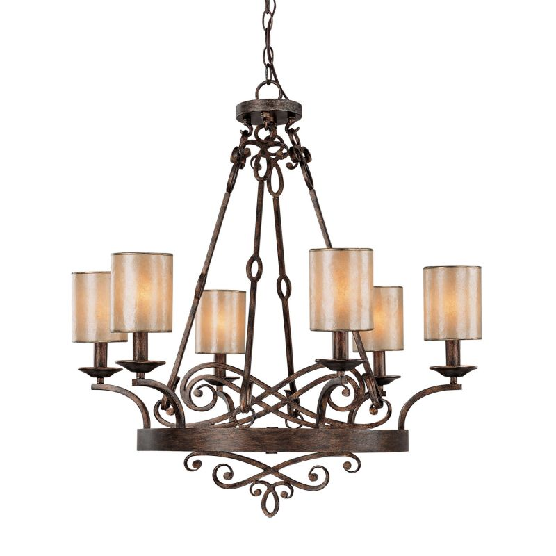 Reserved For Jacquidowd Rustic Lighting With Vintage Rustic: Capital Lighting 4166RT-510 Rustic Reserve 6 Light 1 Tier