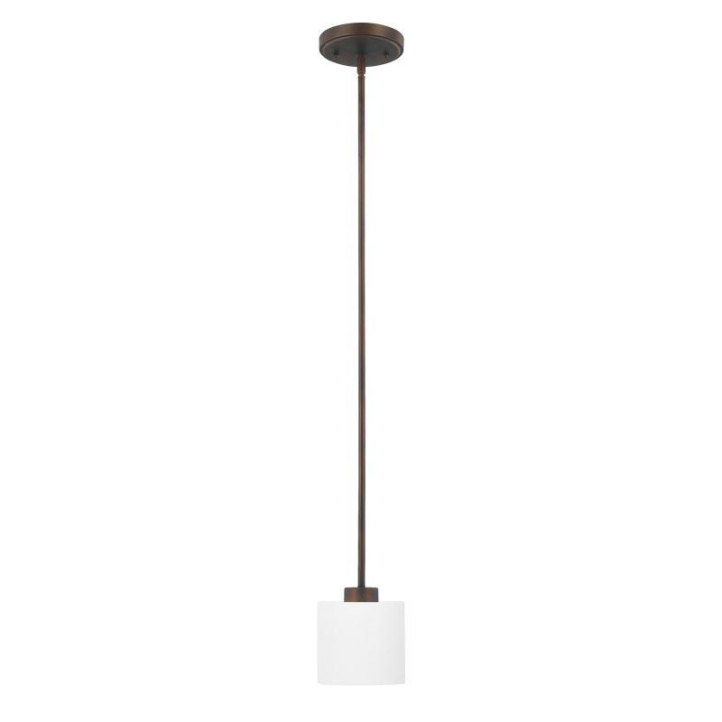Capital Lighting 4340-103 Steele 1 Light Mini Pendant Burnished Bronze