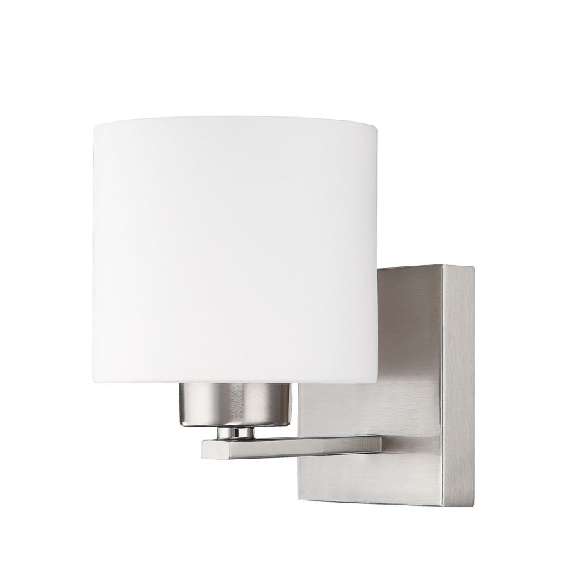 "Capital Lighting 8491-103 Steele Single Light 8"" Tall Wall Sconce"