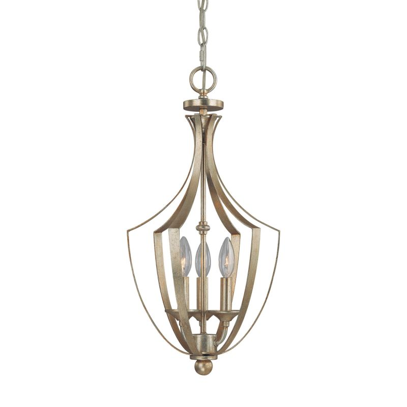 Capital Lighting 9131 Soho 3 Light Full Sized Lantern Pendant Winter