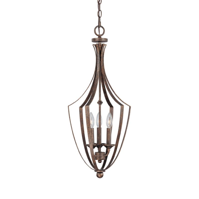 Capital Lighting 9132 Soho 3 Light Full Sized Lantern Pendant Rustic