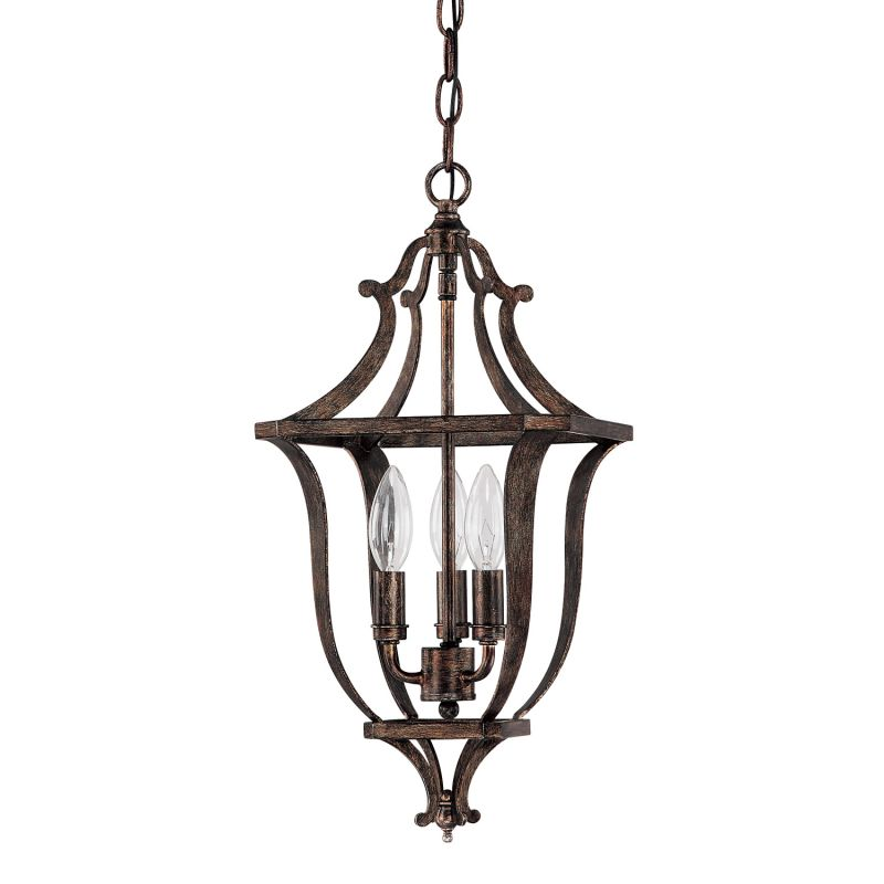 Capital Lighting 9181 Corday 3 Light Full Sized Lantern Pendant Rustic
