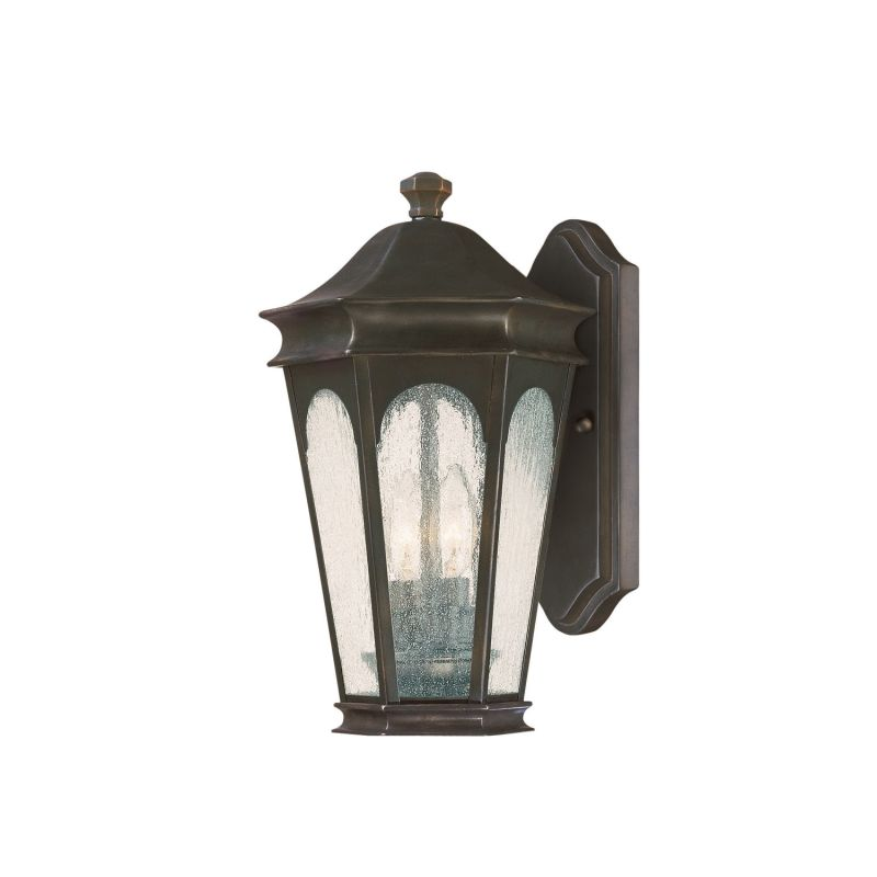Capital Lighting 9380 Inman Park 2 Light Outdoor Wall Sconce Old