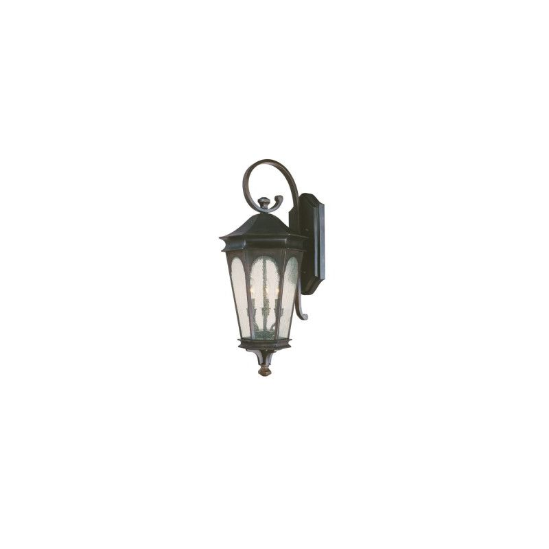 Capital Lighting 9383 Inman Park 3 Light Outdoor Wall Sconce Old