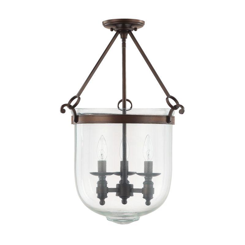 Capital Lighting 9401 Covington 3 Light Full Sized Urn Pendant