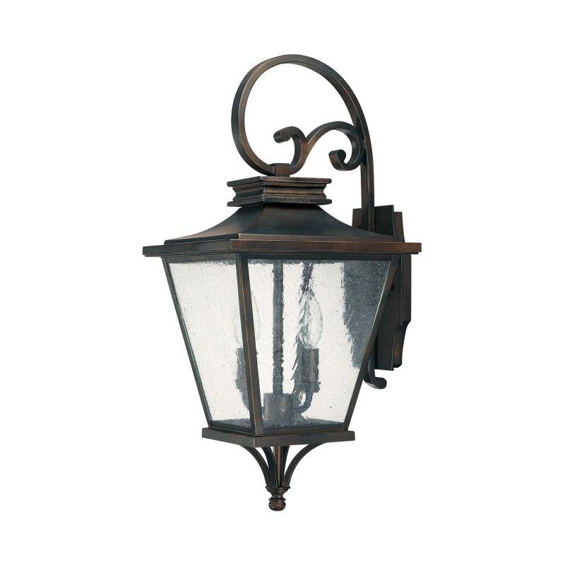 Capital Lighting 9462 Gentry 2 Light Outdoor Wall Sconce Old Bronze