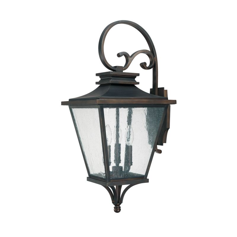 Capital Lighting 9463 Gentry 3 Light Outdoor Wall Sconce Old Bronze