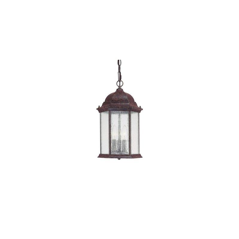 Capital Lighting 9836 Main Street 3 Light Outdoor Mini Pendant New