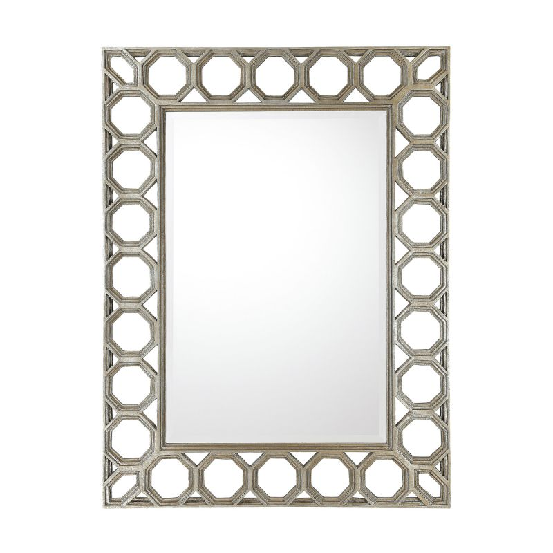 "Capital Lighting M352471 49"" Rectangular Mirror Silver / Gold Home"