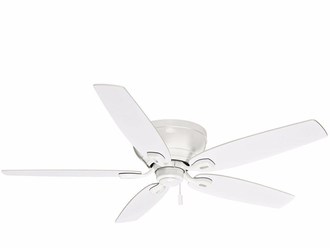 "Casablanca DURANT Durant 54"" 5 Blade Flush Mount Ceiling Fan - Blades"
