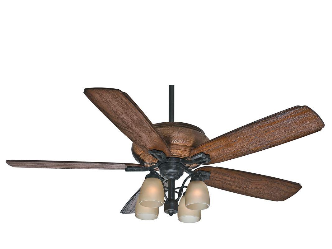 "Casablanca HEATHRIDGE Heathridge 60"" 5 Blade Ceiling Fan - Light Kit"