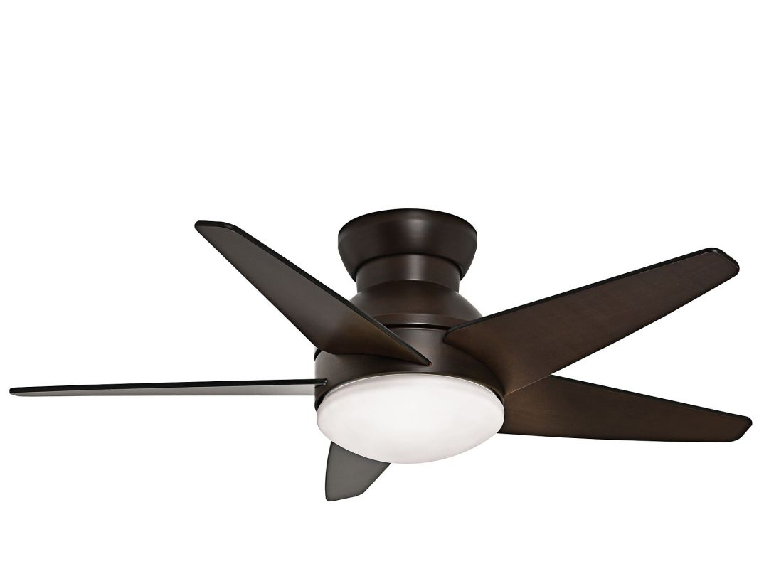 "Casablanca Isotope 44 Isotope 44"" 5 Blade Flush Mount Ceiling Fan -"