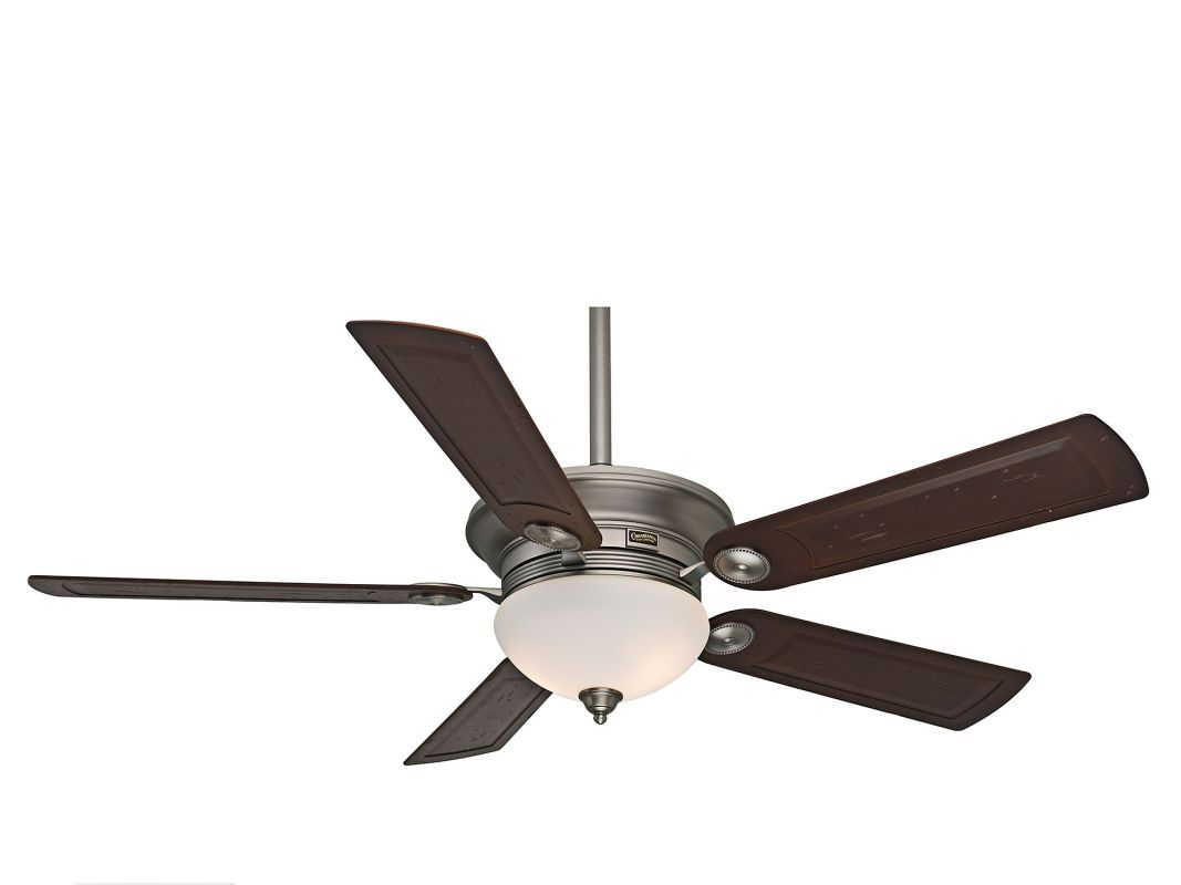 "Casablanca Whitman Whitman 54"" 5 Blade Ceiling Fan - Blades and Light"