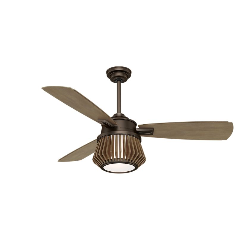 "Casablanca Glen Arbor 56"" Indoor Ceiling Fan - 3 Fan Blades and LED"