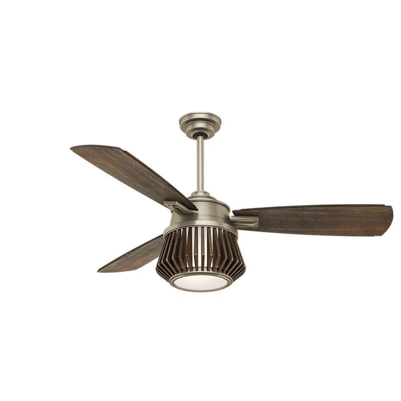"Casablanca Glen Arbor 56"" Indoor Ceiling Fan - 3 Fan Blades and LED"