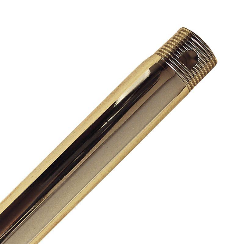 """Casablanca 63006 48"""" Perma Lock Downrod Bright Brass Ceiling Fan"""