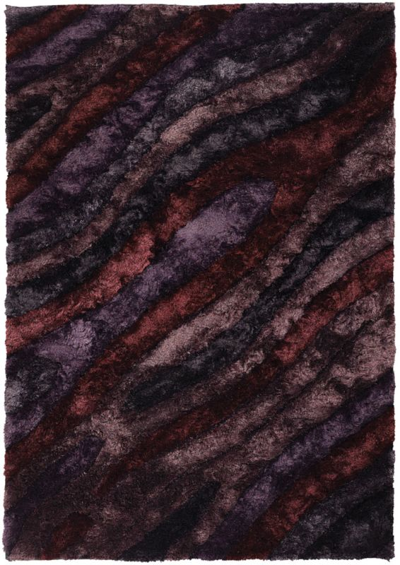 Chandra Rugs Flemish 51103 Purple Burgundy and Mauve Polyester Shag Sale $1926.00 ITEM: bci2782117 ID#:FLE51103-79106 UPC: 849317058867 :