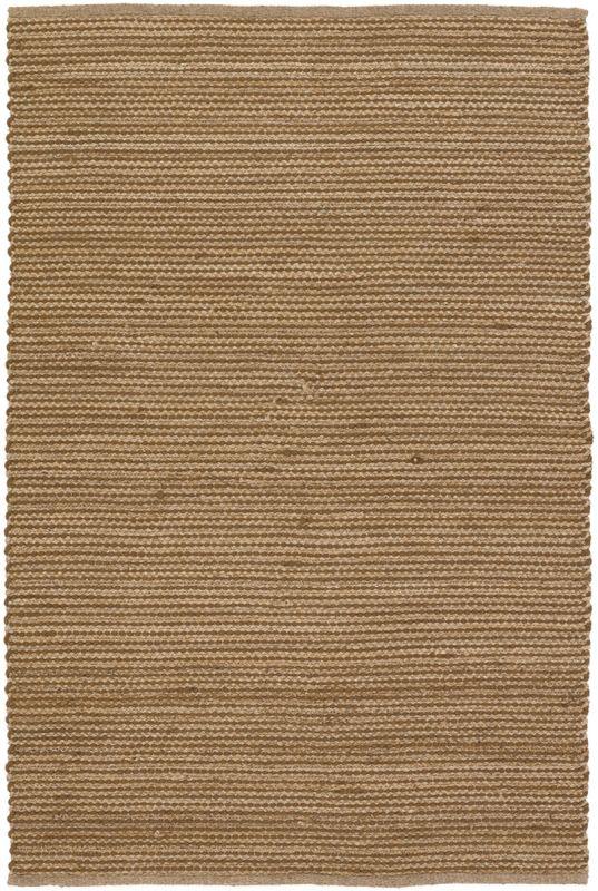Chandra Rugs Hemson 22700 Brown and Tan Wool Blend Shag Area Rug Flat
