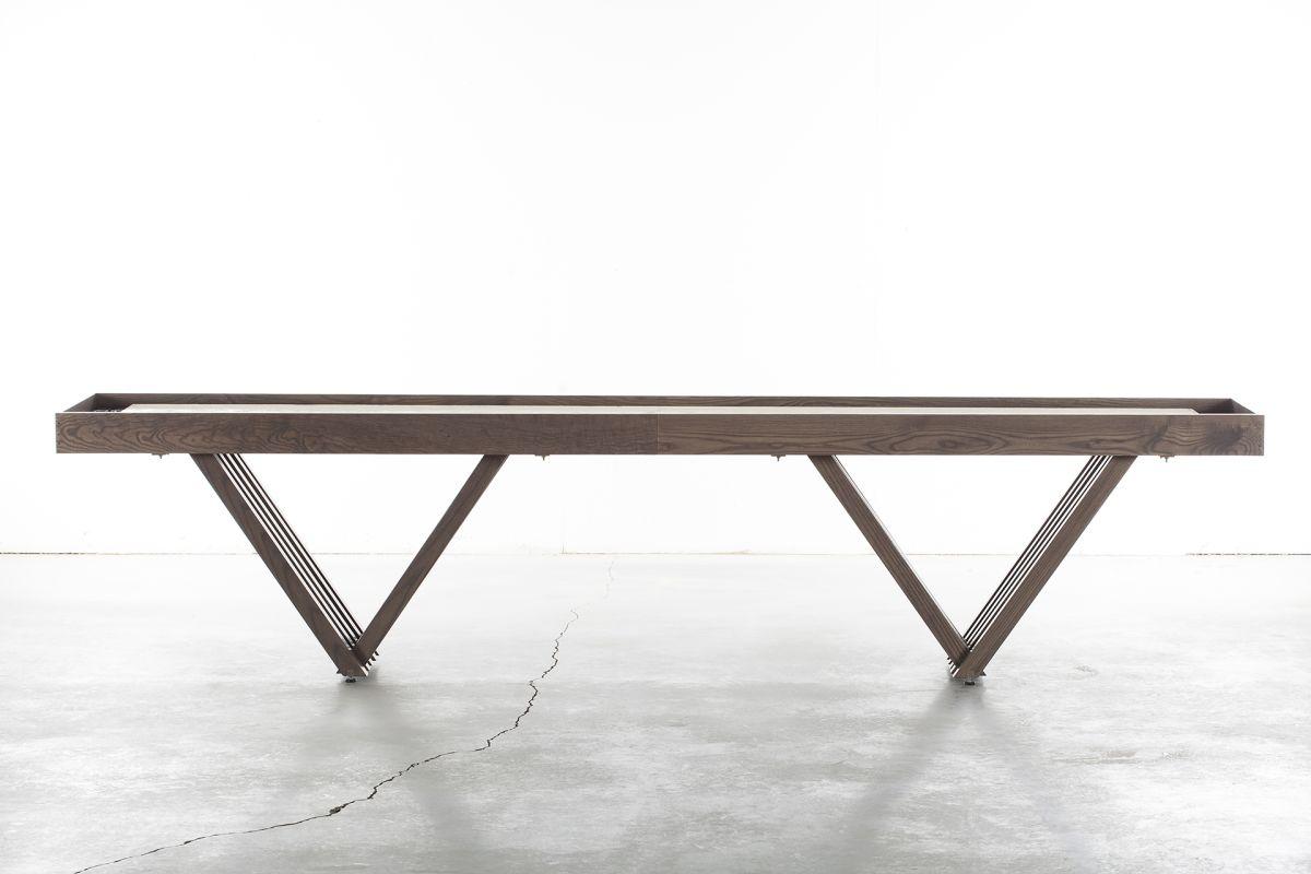 Chandra Rugs Shuffleboard 12 Ash 12 Foot Shuffleboard Table Sale $6693.75 ITEM: bci2782837 ID#:Shuffleboard-12 :