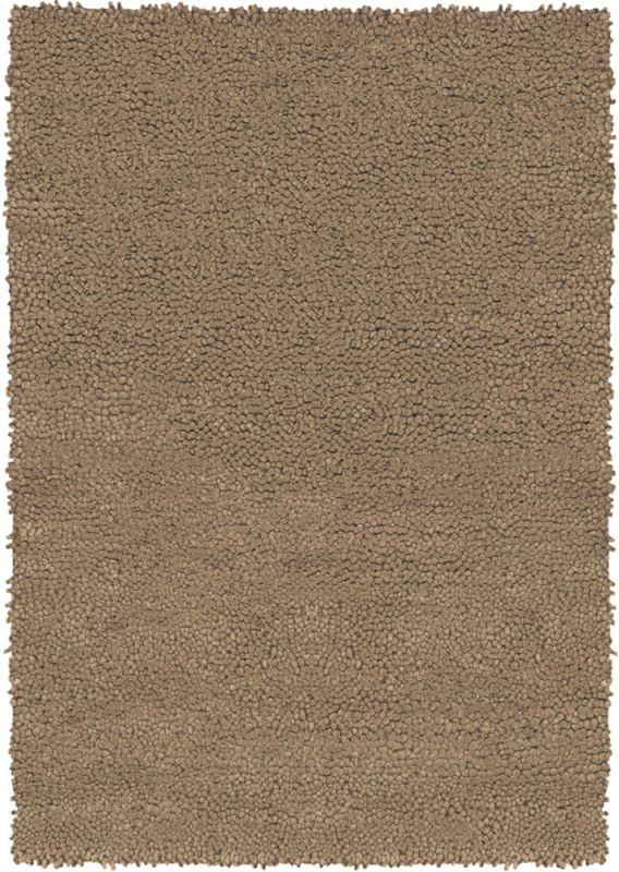 Chandra Rugs Strata 1255 Light Brown New Zealand Wool Shag Area Rug Sale $1090.00 ITEM: bci2782920 ID#:STR1255-79RD UPC: 849317071415 :