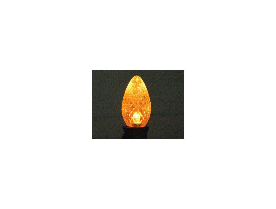 Christmas at Winterland C7-DIM-RETRO-GO Gold Dimmable C7 E12 Base LED