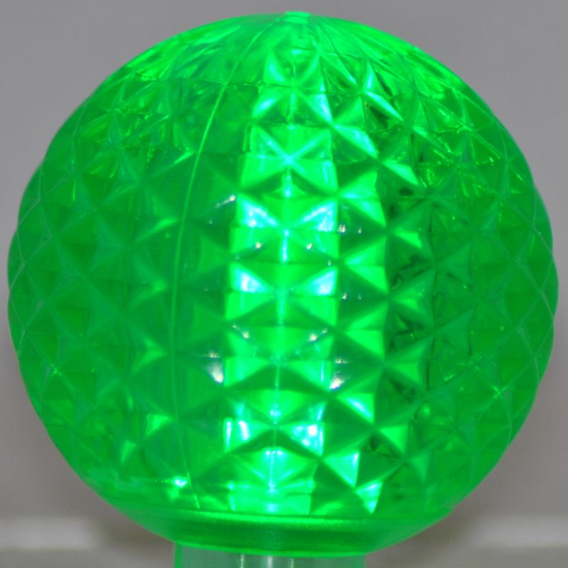 Christmas at Winterland G50-RETRO-GR Green G50 E17 Base LED
