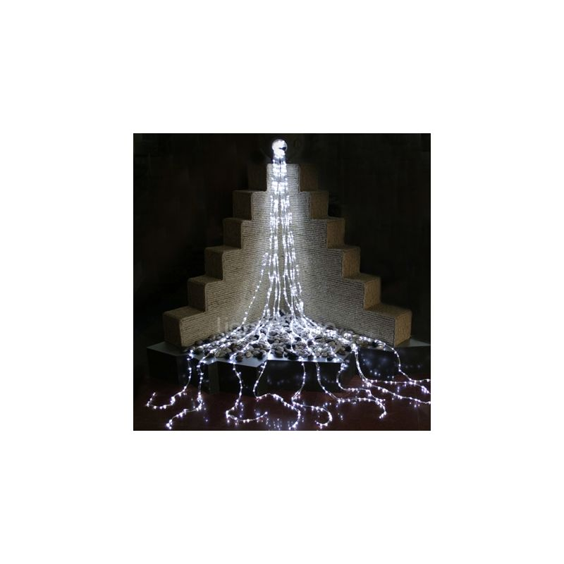 Christmas at Winterland LED-WATERFALL-BL Blue 16 Foot Blue ...