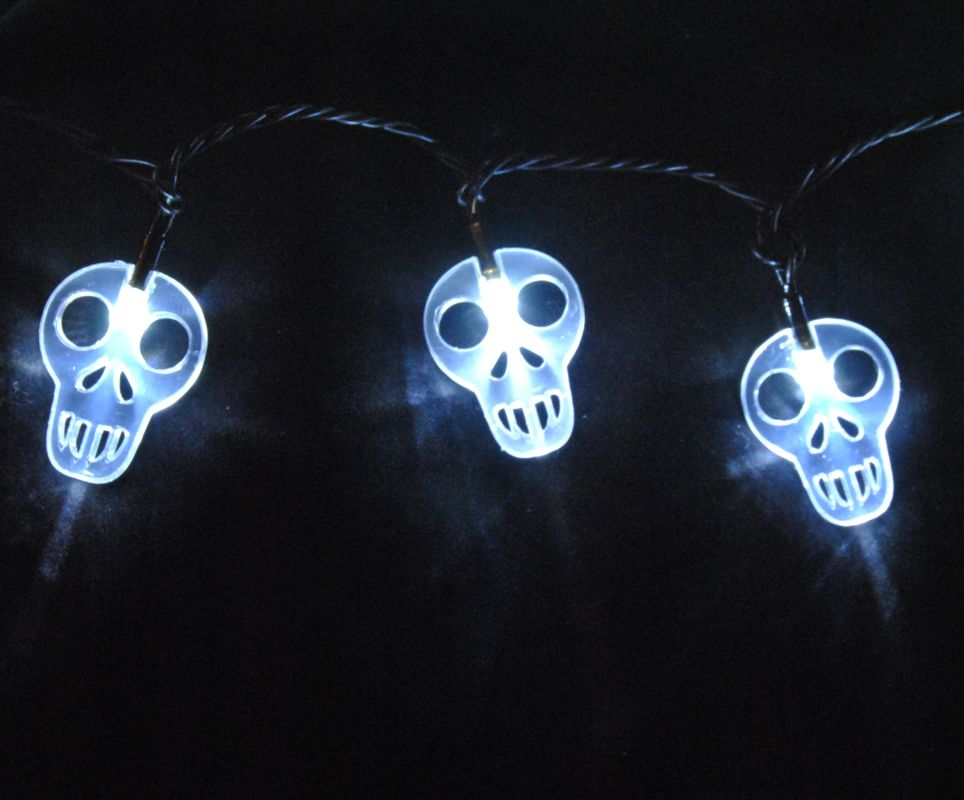 Christmas at Winterland S-35SKPW-6W 17 Foot String of Pure White Skull Sale $14.40 ITEM: bci2045185 ID#:S-35SKPW-6W :