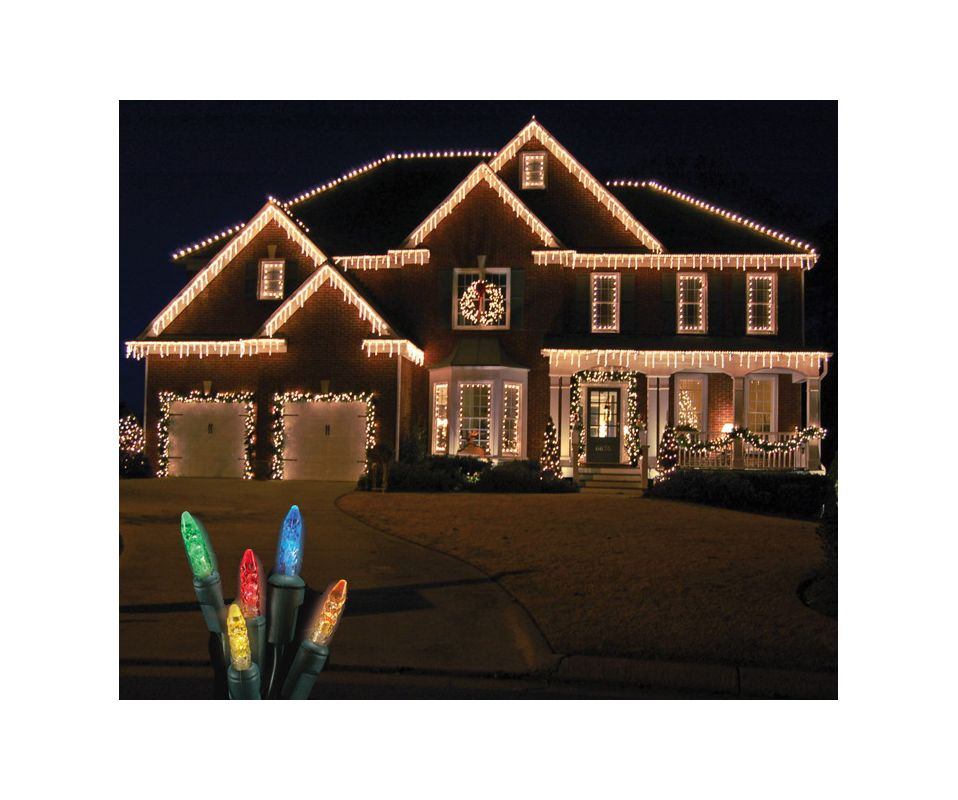 Christmas at Winterland S-ICM55M-IG Standard Icicle Lights M5 LED
