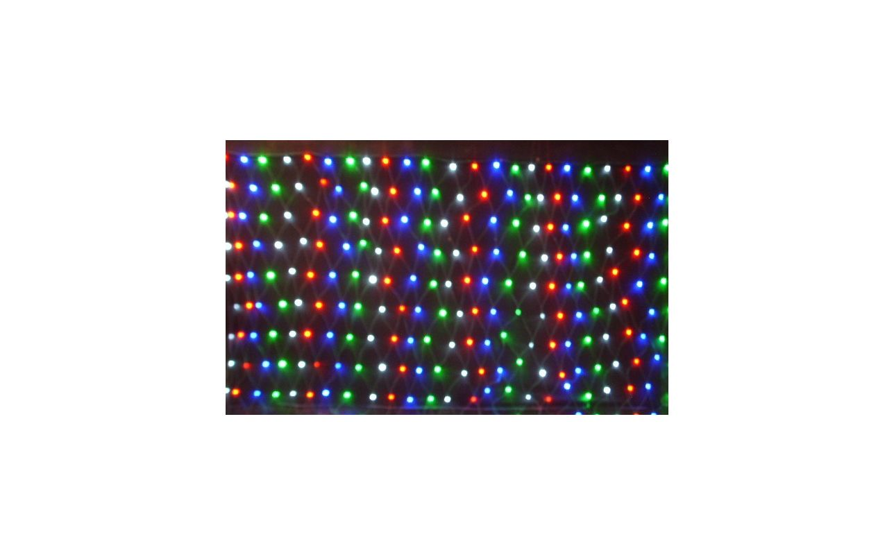 Christmas at Winterland WL-240MM-4M-NL-4CH 240 Multicolor LED Net