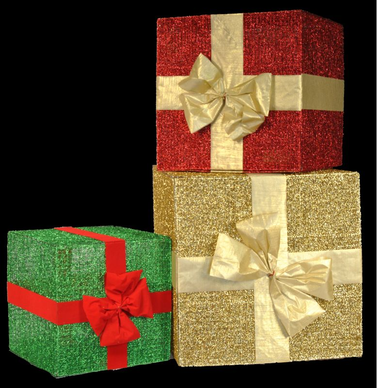 Christmas at Winterland WL-3PK-GIFTS 3 Glitter Gift Boxes with Bows Sale $265.46 ITEM: bci2045262 ID#:WL-3PK-GIFTS :